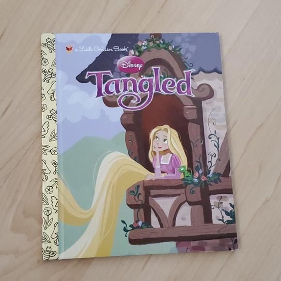 NWOT Disney Tangled Little Golden Book